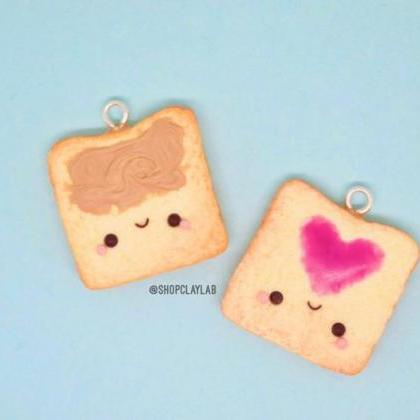 BFF peanut butter & jelly toast fri..