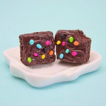 Realistic chocolate cosmic brownie ..